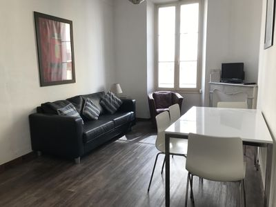 Photo for Gambetta 2 Bedroom Apartment Central Cannes and 5 minutes walk from Croissette
