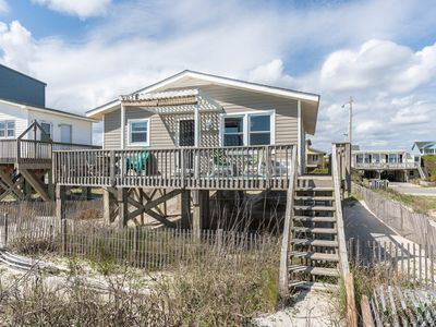 Photo for Flip Flop Inn: 3 Bed/2 Bath Traditional Beach Home with Oceanfront Decks and Views