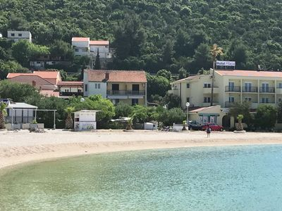 Photo for Spacious and modern apartment, directly on the beach in Klek, 70 km away from Dubrovnik