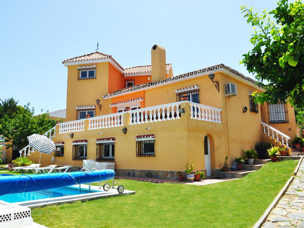 Superb Benalmádena Villa Rental   The Villa From The Garden