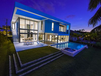 Photo for Brand new Modern mansion. Waterfront