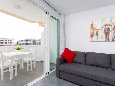 Photo for Close to the sky: apartment surrounded by beaches