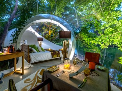 Photo for Bubble Lodge an exclusive experience with nature!