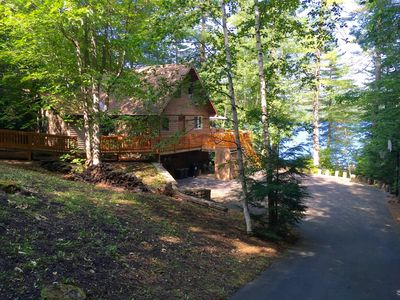 Photo for Beautifully Decorated Private Lake Front Home on Trickey Pond
