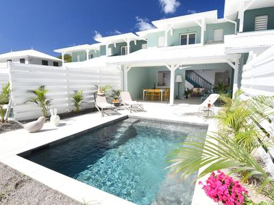 Photo for Luxury villas, DIRECT ACCESS TO THE BEACH!