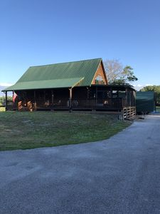 Photo for Log Cabin in South Lakeland, between Tampa & Orlando close to I-4 & the Parkway!