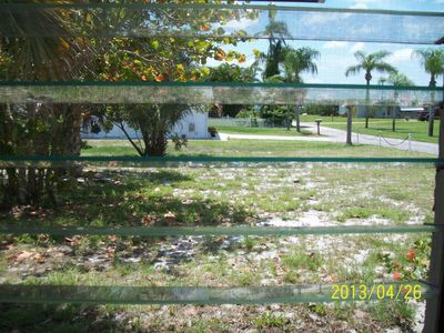Waterview of St. Luciue River access to ocean from dining table...