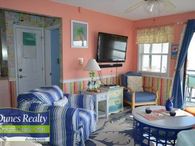 Photo for Dolphin Cove 2A - Oceanfront in Garden City Beach