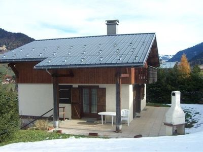 Photo for 5KM OF MEGEVE NICE CHALET INDIVIDUAL FOR 2 TO 6 PEOPLE