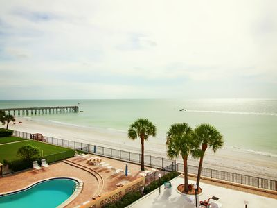 Photo for MARINERS LIGHT ON SOOTHING REDINGTON SHORES  NICEST BALCONY ON THE GULF  JUST RENOVATED!!