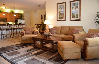 Photo for Upscale Condo Gorgeous Bamboo Floors.Close Convention Center, Disney & Universal