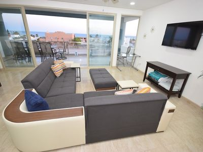 Photo for Gorgeous ocean view condo - Linda Vista 301B