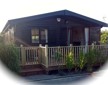 Photo for Beautifully presented Log cabin in quiet cul de sac of Hoseasons Holiday park