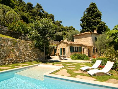 Photo for Provençal Villa Set in Peaceful Olive Grove with Panoramic View