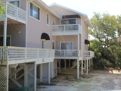 Photo for Changes In Attitude - 3 Bed / 2 Bath Gulf Front Townhome in Indian Pass