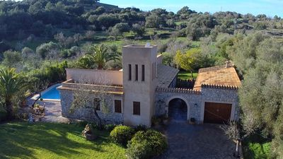 Photo for Charming finca - 800m to Artà overlooking San Salvador, pool, air conditioning