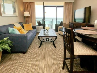 Photo for Watch Dolphin Play from this BRAND NEW Caravelle 1bd Oceanfront Condo