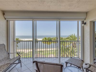 Photo for Sun Caper 308, 2 Bedrooms,  Sleeps 4, Heated Pool, Gulf Front, Elevator
