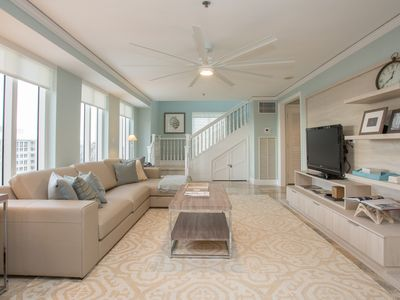 Photo for RITZ-CARLTON PENTHOUSE 2 STORY CORNER W BALCONY RENOVATED.
