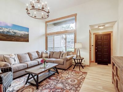 Photo for Fully Remodeled Ski in Ski out Townhome at Peak 9-Free Lift Tickets for March