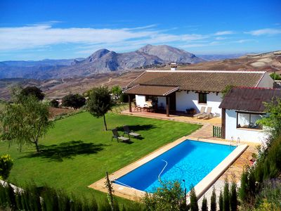 Photo for Quiet rural house in the center of Andalusia with stunning views.