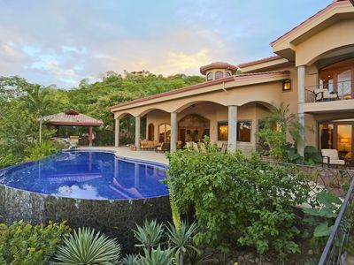 Photo for Luxury 7 Bdr Ocean View Villa-Magnificent Pavilion, Pool, Spa, Bar, & Greenhouse