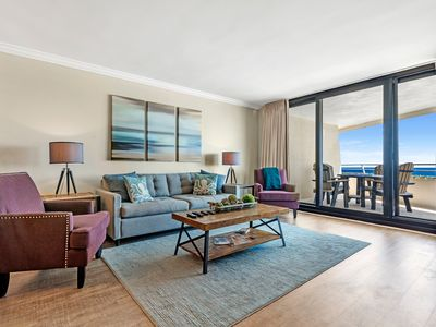 Photo for Eden East 601- Beach Front Unit with Large Terrace!