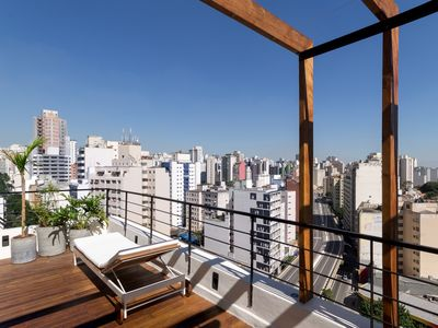 Photo for Exceptional penthouse with 125 m2 of terraces