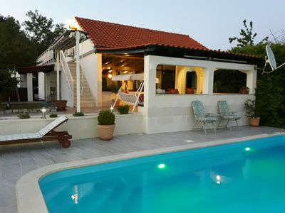 Photo for House Marija near Trogir, Pool & Jacuzzi