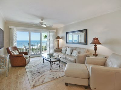 Land's End 404 building 10 TOP Floor GULF views/Updated/Private Balcony!