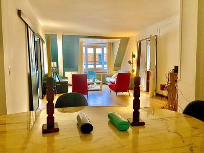 Photo for GORGEOUS FLAT LOFT DESIGN QUIET AND SPACIOUS IN CHAMPS ELYSEE VIEW EIFFEL TOWERS