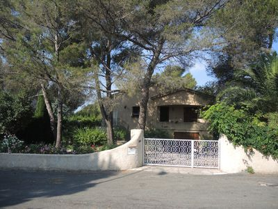 Photo for T3 6 people in villa Boulouris, beach 250m