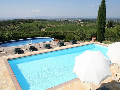 Photo for Casa Allodola F: A welcoming apartment in the characteristic style of the Tuscan countryside, with Free WI-FI.