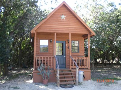 Photo for Newer log cabin on 2 acres less than 1 MILE from MAIN St !