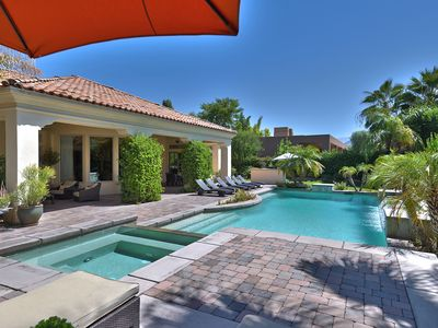 Photo for Luxury Gated Pool Home + Large Private Backyard+Across from Sunnylands