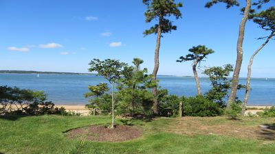 Photo for Welcome to The Sea Bluff- Waterfront ranch home offering endless views and private beach! A/C too!