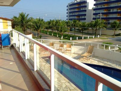 Photo for Beautiful apartment 50 m from the beach in the Terrace Condominium of Maitinga