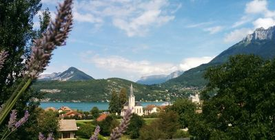 Photo for Appt Lake Annecy - Village of Duingt - Location and Exceptional View