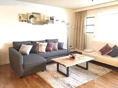 Photo for Stylish DT core condo (with parking)