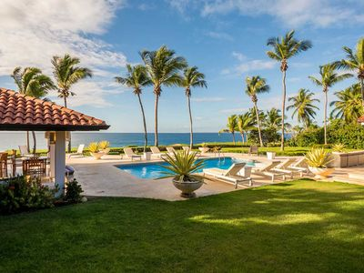 Photo for Mediterranean Style Oceanfront Hacienda, Full Staff incl. Cook, Swimming Pool, AC, Free Wifi