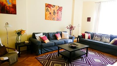 Photo for Comfortable Apartment for up to eight people -  Five-minute Walk to Square
