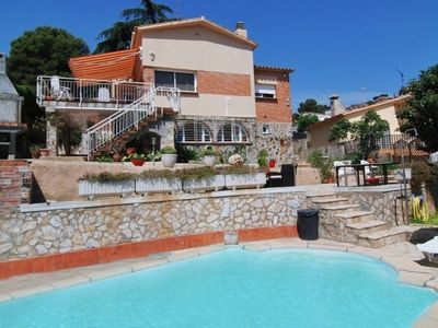 Photo for Club Villamar - Very beautiful and cozy holiday villa with private pool, located in an elevated p...