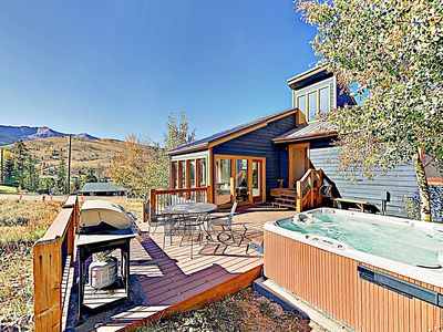 Photo for New Listing! Upgraded Mountain-View Retreat w/ Hot Tub - Minutes to Gondola