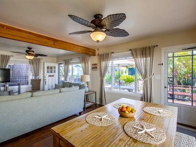 DEAL727 by 710 Vacation Rentals | Detached house, family-sized patio, steps from sand
