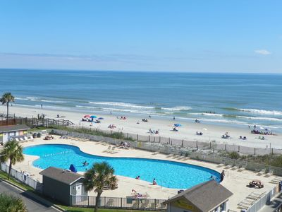 Photo for Top Floor Prime Ocean View 2 BR 2 Bath Condo