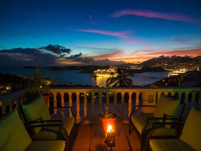 Photo for 4 Bedroom House and Pool with Spectacular views of Charlotte Amalie Harbor
