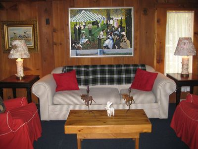 Photo for Awesome Authentic Adirondack Lodge near Gore Mountain