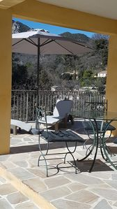Photo for Single-storey villa with swimming pool at Gilette, accessible to disabled person