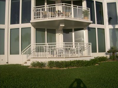 View of Balcony from Sea Wall