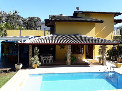 Photo for HOUSE COND. COSTA DO SOL-GUARATUBA 3 SUITES AR / COD-SWIMMING POOL- 200 MTS BEACH / WI-FI